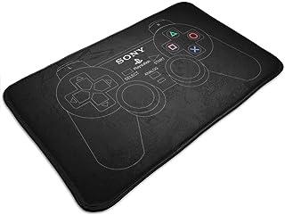 HUTTGIGH Playstation 2 - Alfombrilla para puerta de control de juegos analógico, antideslizante, alfombra de cocina, 19.5 ...