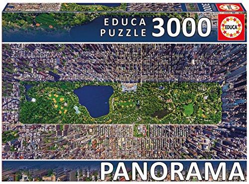Educa Borrás - Puzzle Central Park, Nueva York, 3000 Piezas (16781.0)