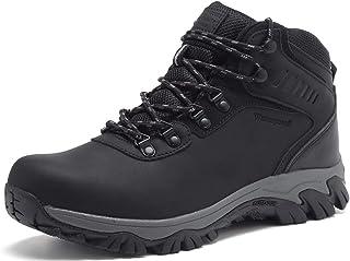 Sponsored Ad - Quicksilk EYUSHIJIA Men's Waterproof Snow Boots Hiking Boot