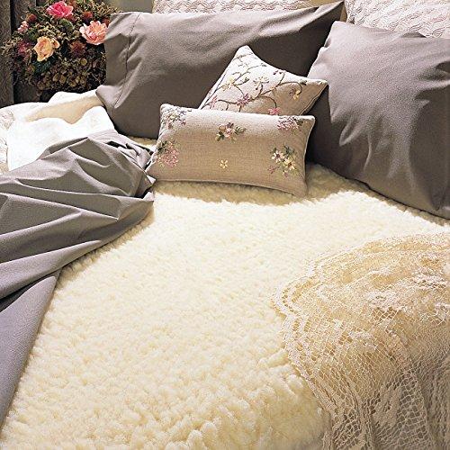 Hot Sale SnugFleece Original Wool Mattress Pad - Queen
