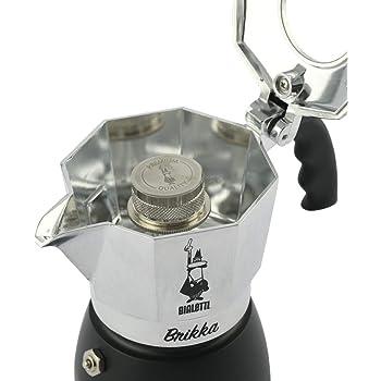 BIALETTI シルバー 2カップ 直火式エスプレッソメーカー ブリッカ 6782