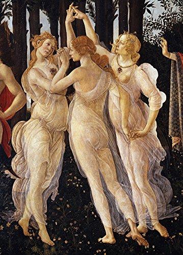 Sandro Botticelli - Three Graces in Primavera - Medium - Semi Gloss Print
