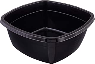 Follow Me Plastic Bowl for Mixing, 12.5 liter - Black