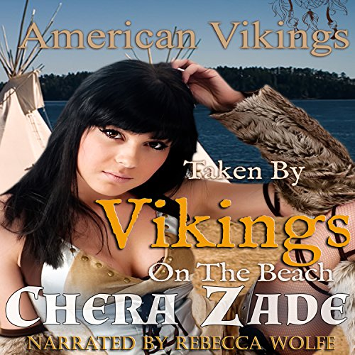 Taken by the Vikings on the Beach audiobook cover art