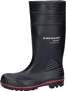 Dunlop A442031 S5 ACIF. KNIE, Bottes en caoutchouc de hauteur moyenne, non doublées mixte adulte, Noir, 39/40 EU