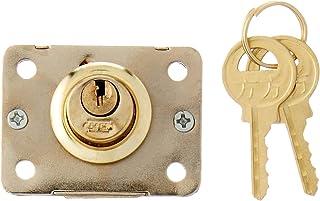 cerrojo de seguridad, dorado /Caja de almacenaje A0127/verrouiller cerradura con llave candado peque/ño candado Casier cerradura de caj/ón Retro de Metal agenda/