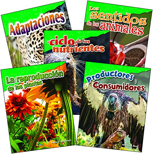 Life Science Grade 4 Spanish Set (Science Readers: Content and Literacy) (Spanish Edition)