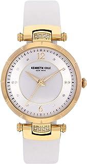 Kenneth Cole Women's Classic Mop KC50963003 Gold Polyurethane Quartz Fashion Watch