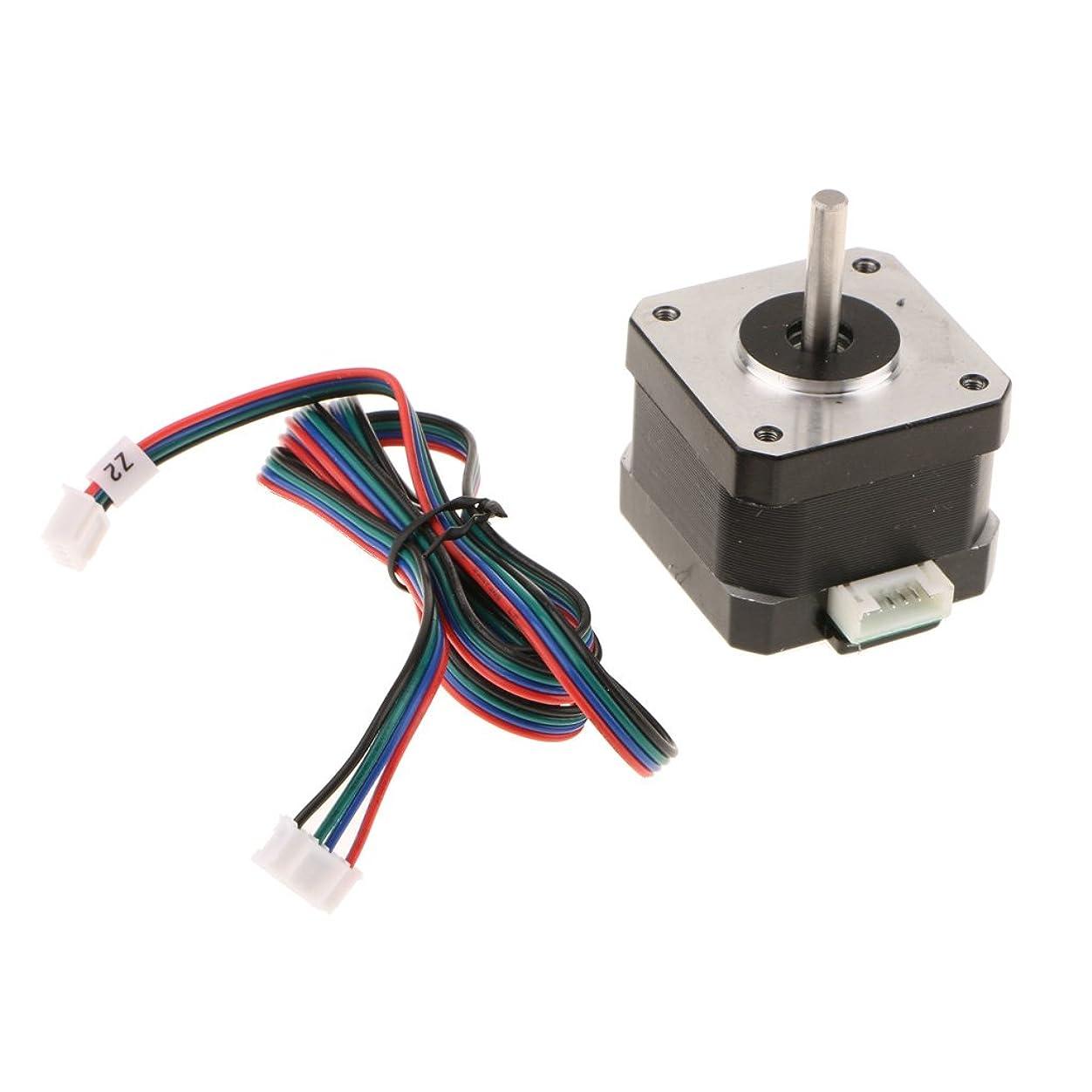 ボイコット必要条件ダースステッパーモーターNEMA 17 SL42STH34-1504A 40mm 1.8A 4本リード 3Dプリンター対応 3Dプリンタステッパ