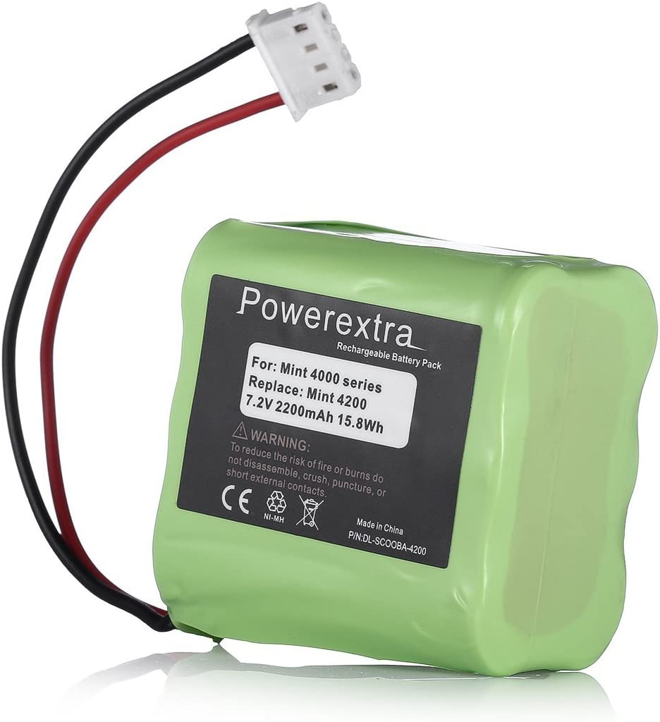 Popular shop is the lowest price challenge Powerextra 7.2V 2200mAh Replacement iRob Battery Al sold out. with Compatible