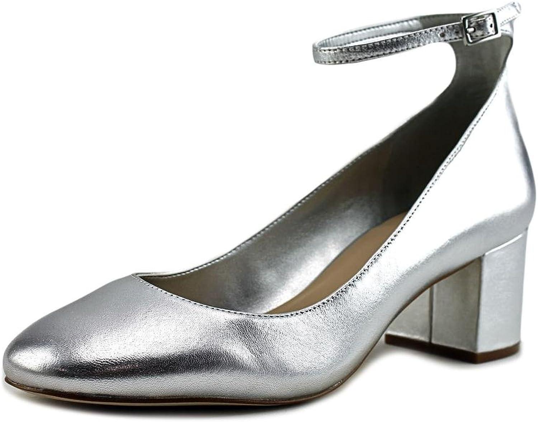 Aldo Womens Clarisse Suede Padded Insole Block Heels