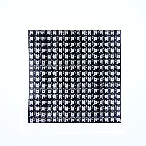 ALITOVE For Arduino WS2812B LED Rainbow Matrix 16x16 256 Pixels led flexible panel screen 5050 RGB SMD Dream color array of led pixel
