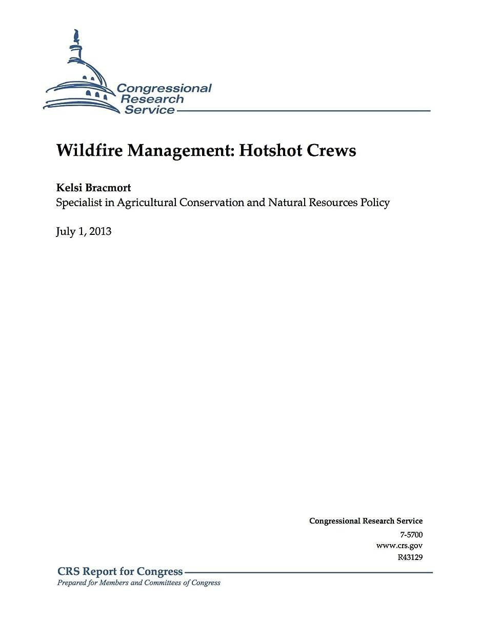 生む真空方向Wildfire Management: Hotshot Crews (English Edition)