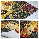 chakra 1 tappetini poliestere pavimento tappeto super assorbente eco-friendly in lattice antiscivolo tappeti per la cucina camere da letto sala conservatorio 120 x 80 cm