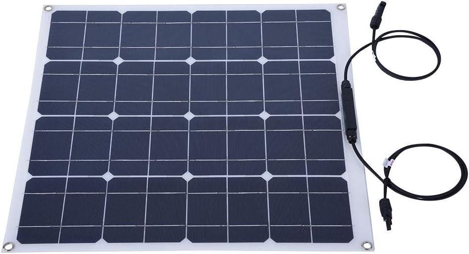 Max 41% Las Vegas Mall OFF 50W 12V Solar Panel Outdoor High Eff Charging Flexible Portable