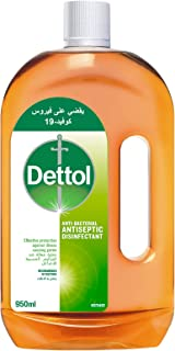Dettol Antiseptic Disinfectant All-Purpose Surface Cleaner - 950 ml