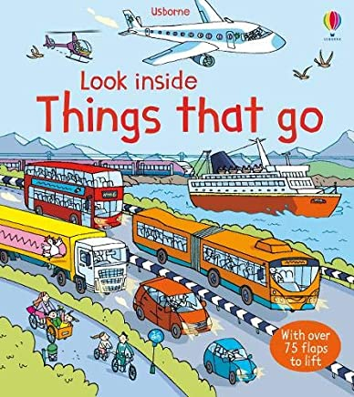 Look Inside Things That Go (Usborne Look Inside)