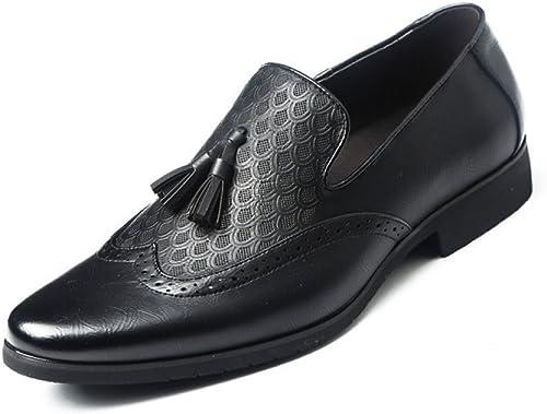 DHFUD DHFUD Sculpté Rétro Chaussures pour Hommes  vente d'usine en ligne discount