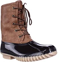 The Original Duck Boot Womens Arianna Round Toe Rainboots
