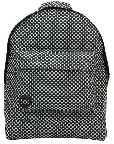 Mi-Pac Microdot Rucksack Casual Daypack, 41 cm, schwarz/grau