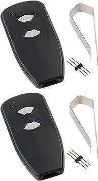 2X for Marantec M3-2312 315 MHz Two Button Remote Garage Door Opener Program Pin