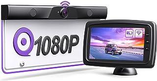 eRapta Battery Wireless Backup Camera System Kit, Upgraded True Wireless Car Camera with Stable Digital Singal, 5'' HD Mon...