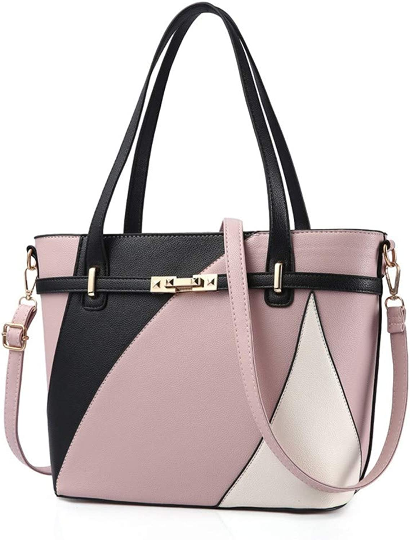 3d40332bea8e0 ZLULU Damen-Schultertaschen Damenhandtaschen Grünikale Quadratische  Pu-Handtasche Schulter Diagonal Diagonal Diagonal Paket Elegante  Kontrastfarbe Mode ...