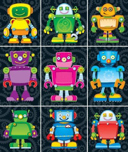 Carson Dellosa Robot Stickers