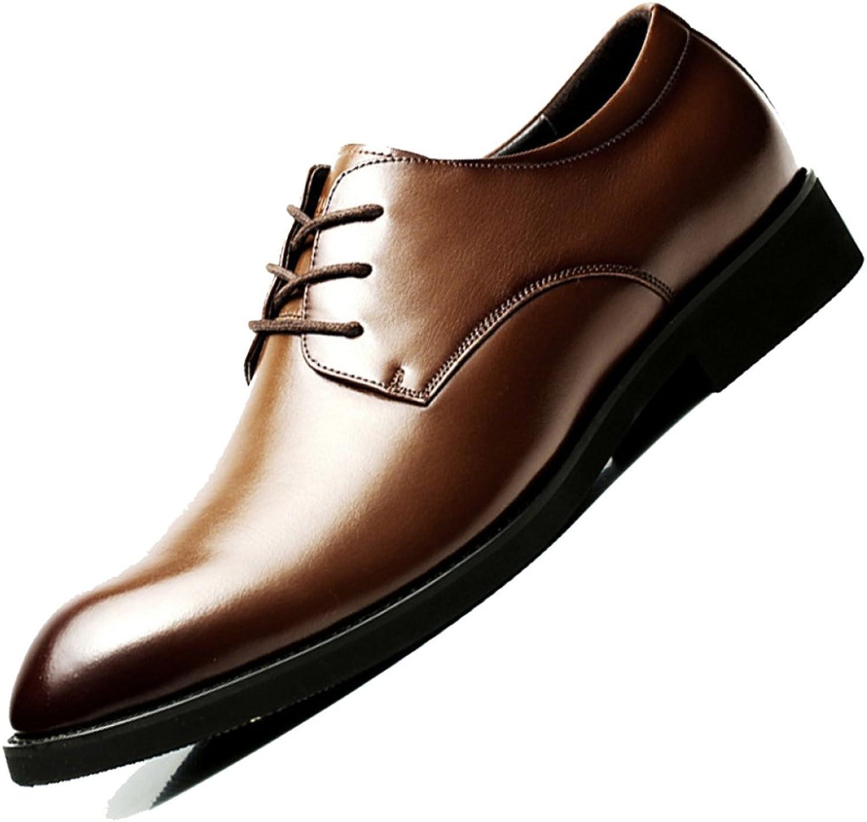 MERRYHE Mnner Lace Ups Brogues Gentleman Echtleder Oxford Business Anzug Schuh Formale Schuhe Tilden Walk Derbys Für Herr Mnnliche Hochzeit Abend Arbeit Party