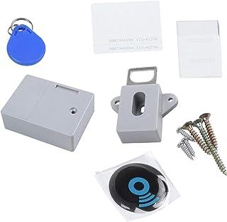 TOOGOO Invisible Hidden RFID Free Opening Intelligent Sensor Cabinet Lock Locker Wardrobe Shoe Cabinet Drawer Door Lock El...