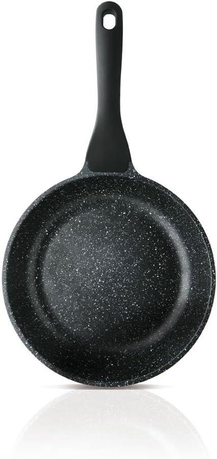 Taurus Sartén Aluminio Fundido, Gris Oscuro y Piedra, 26 cm