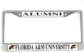 Florida A&M University Alumni Chrome License Plate Frame