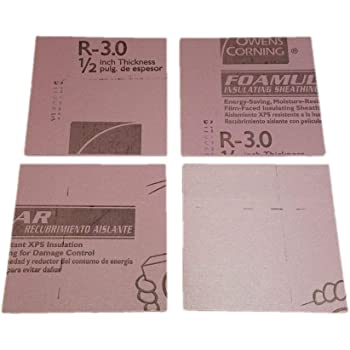 "Amazon.com: Pink Insulation Foam 1/2"" Thick (4 sq ft)"