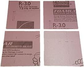 Pink Insulation Foam 1/2