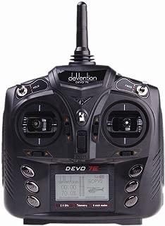 Walkera 7CH 2.4G DEVO 7E DSSS Radio Control Transmitter Model 2 for Helicopter Airplane