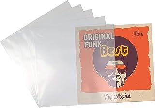 """Beats & More PREMIUM LP 12"""" beschermhoezen - Vinyl platen hoezen - 100 - optimale bescherming voor platen - 100 stuks - Ma..."""