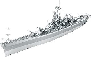 Fascinations ICONX USS Missouri (BB-63) 3D Metal Model Kit