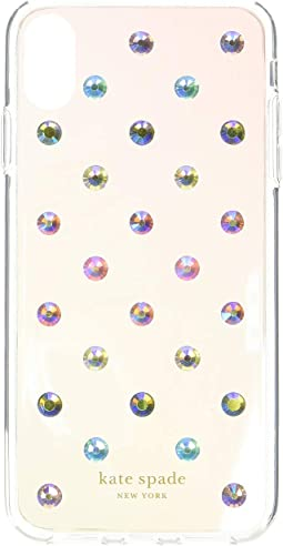 Ombre Lia Dot Phone Case for iPhone XS Max