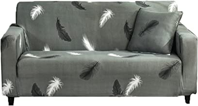 Sofa Cover, Gedrukte Stretch Bank Cover Sofa Gooi Anti Slip Bank Cover Sofa Cover Sofa Cover Meubelbeschermer Versieren, ...