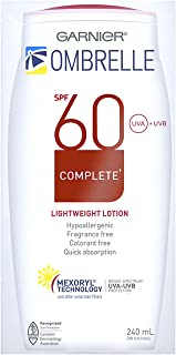 Ombrelle Sunscreen Lotion Complete Body, Lightweight Spf 60, 240 mL