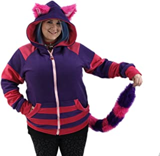 Pawstar Cheshire Cat Hoodie and Furry Tail Combo Deal
