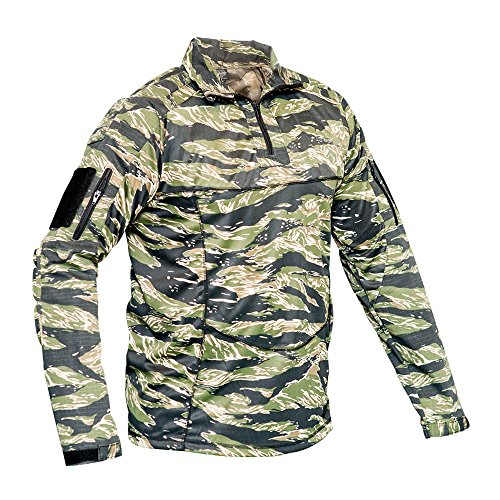 Valken Tactical Tango Combat Shirt, Tiger-Streifen, Medium