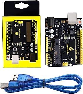 KEYESTUDIO Development Board ATmega328P for Arduino UNO with USB Cable
