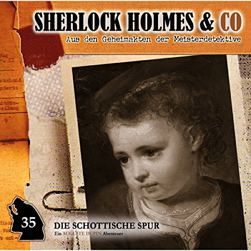 Die schottische Spur audiobook cover art