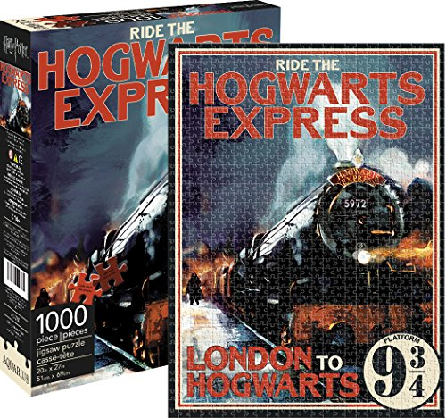 Aquarius Puzzle Harry Potter Hogwarts Express (1000 Piezas), de la Marca