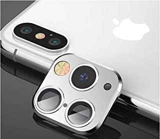 EM Modified Camera Lens Seconds Change Cover for iPhone X XS XS/MAX Sticker Fake Camera for iPhone 11 Pro Max Metal Protec...