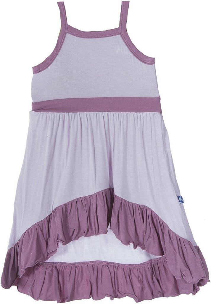 KicKee Pants Girls Bamboo Hi-Lo Maxi Dress