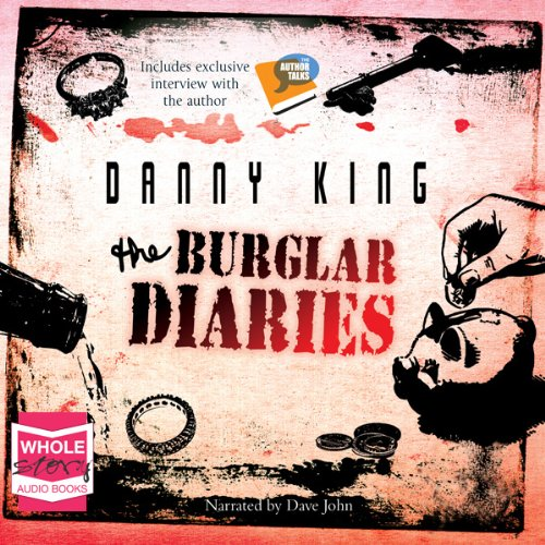The Burglar Diaries audiobook cover art