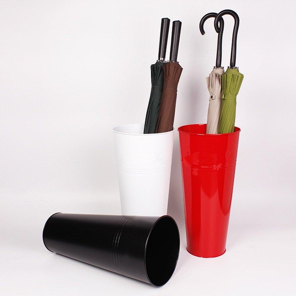 LJHA yusanjia Soporte de sombrilla Arte de hierro Cubo de paraguas de hogar parag/üeros grandes Color : Blanco , Tama/ño : 45*60*25CM estante de almacenamiento de paraguas