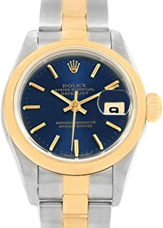 Rolex Datejust Automatic-self-Wind Female Watch 69163 (Certified Pre-Owned)